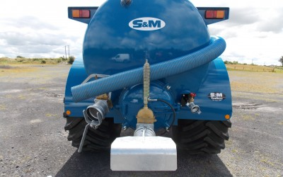 New S&M Slurry Tank